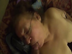 Granny Mexicana BBW has oral sex