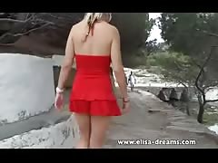 Crazy day in Spain! Flashing and Masturbation