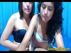 Slutty cuban babes need some threesome