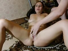 Seems like this horny Russian is really enjoying fingering and fisting