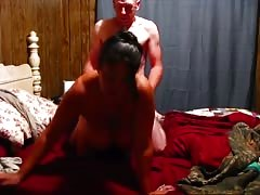 watch me fuck my wife and watch me make her big boobs sway