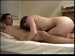 She is tasting my sperm after hottest sex in my entire life