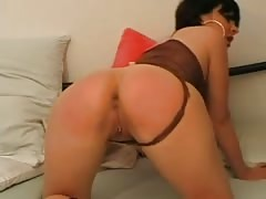Watch how I stretch the ass of my hot ex girlfriend in this homemade porn