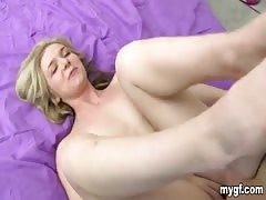 Hottie on top and the doggy style banged in homemade porn